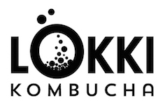 Lokki logo kombucha