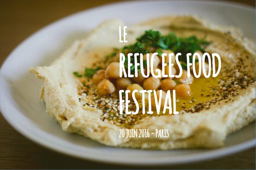 Le refugees food festival